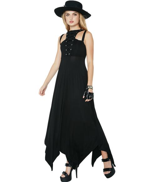 Deimos Doom Maxi Dress