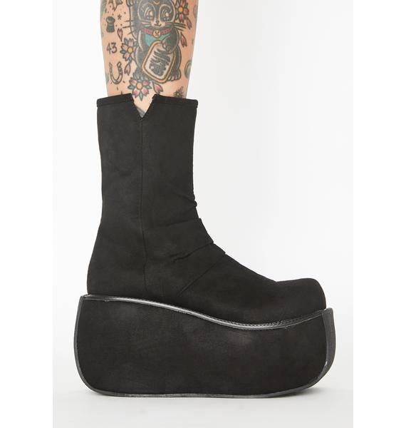 Demonia Rock The World Platform Boots