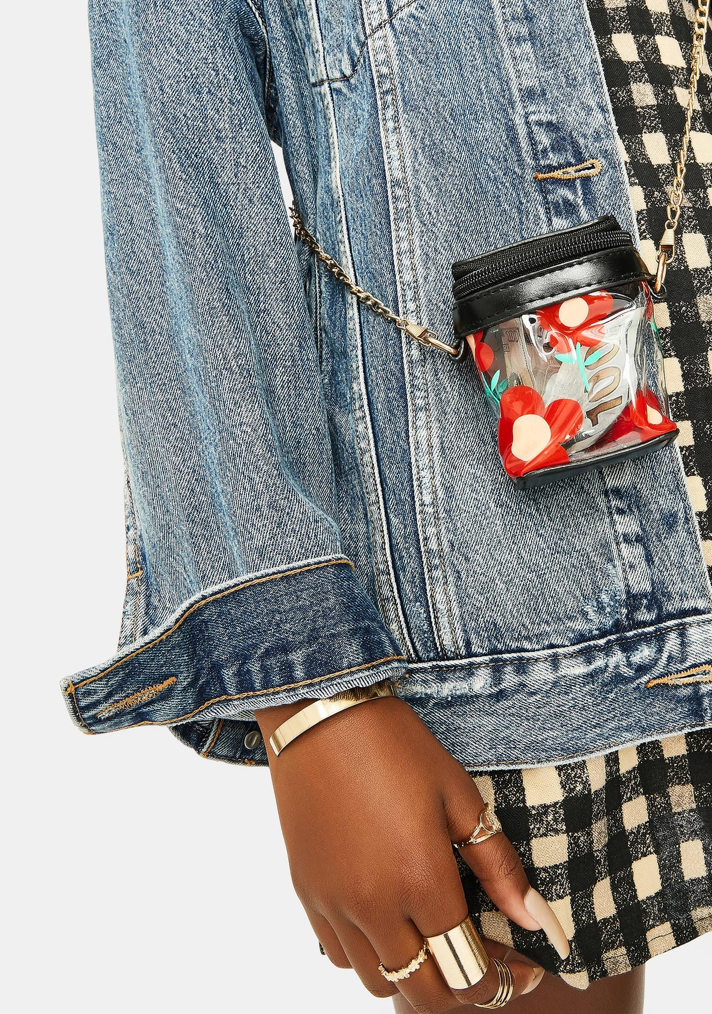 Flower Power Mini Crossbody Bag