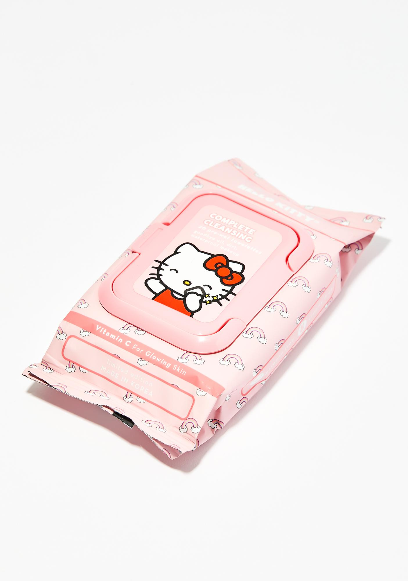 The Crème Shop Hello Kitty Cleansing Towelettes