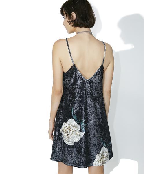 Piper Velvet Slip Dress