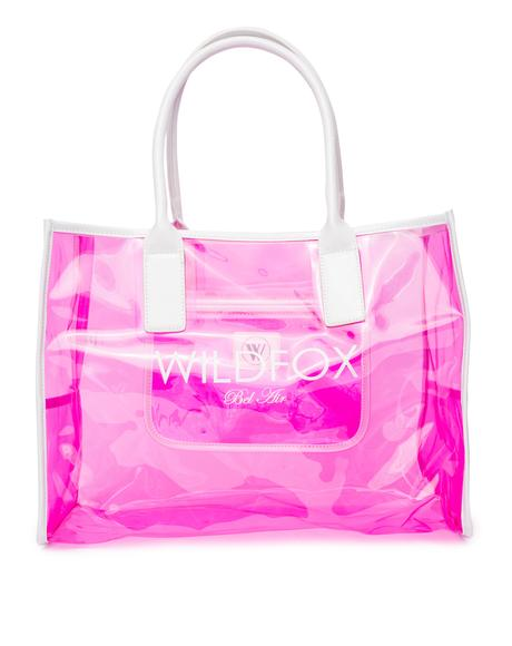 Wildfox Bel Air Vinyl Tote