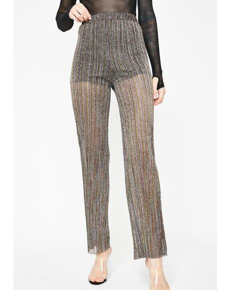 Reign Or Shine Sheer Pants
