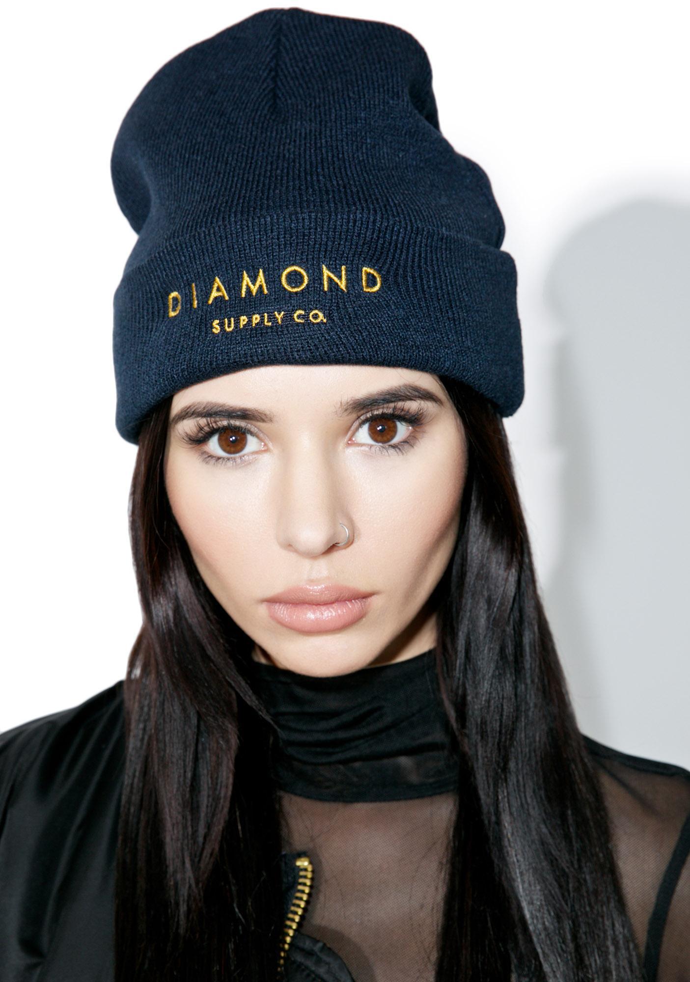 Diamond Supply Diamond Beanie