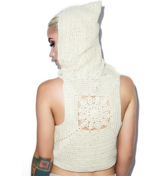 Mellow Out Crochet Crop Top