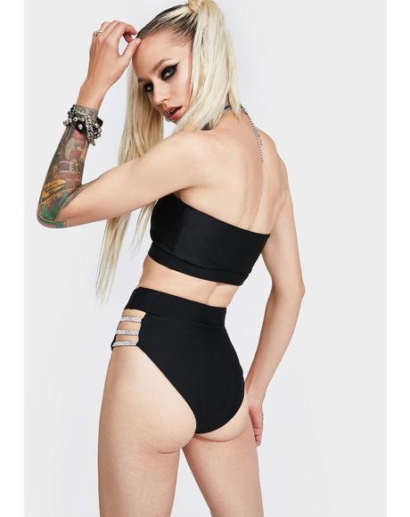 Evil Girl Code Bikini Set