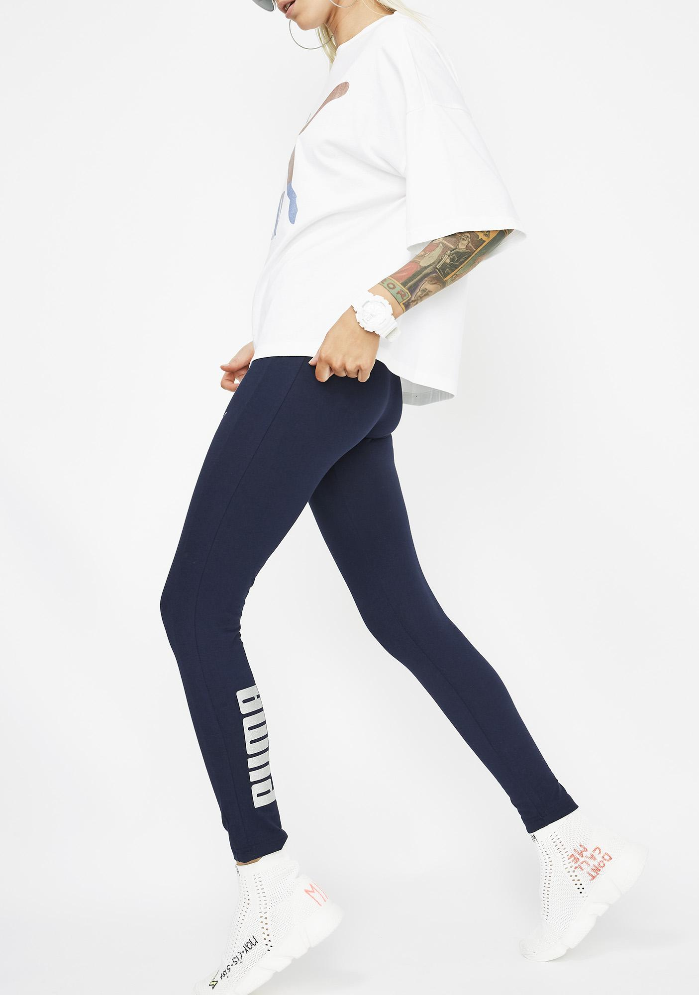 PUMA Peacoat Glam Leggings