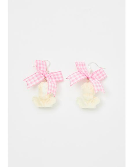 Cheer Up Cherub Earrings
