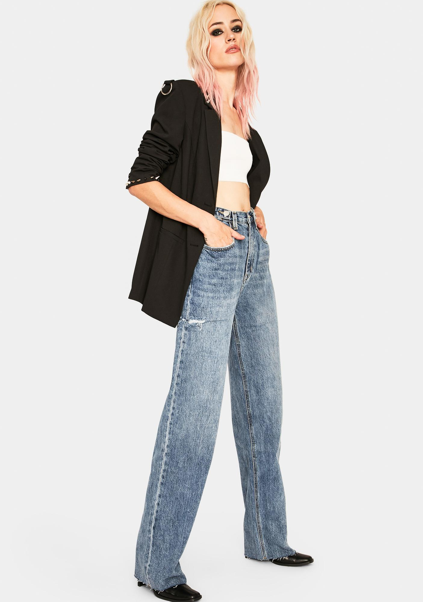 Zee Gee Why All Time Blues Slash Hi & Loose Jeans