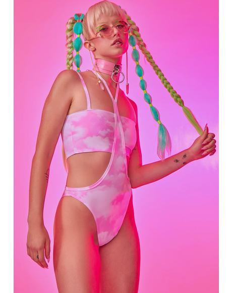 Candy Cloud Bodysuit Set