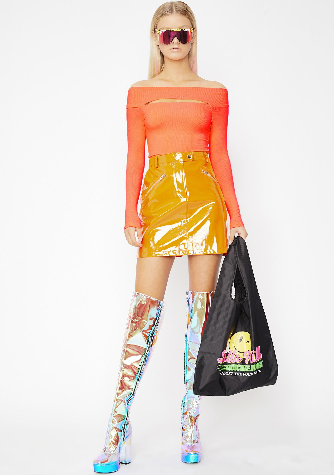 Juicy Venus Delight Cutout Bodysuit