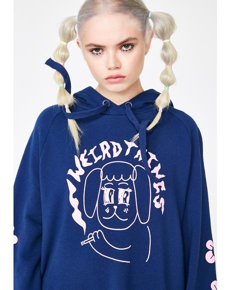 Weird Things Hoodie Dress