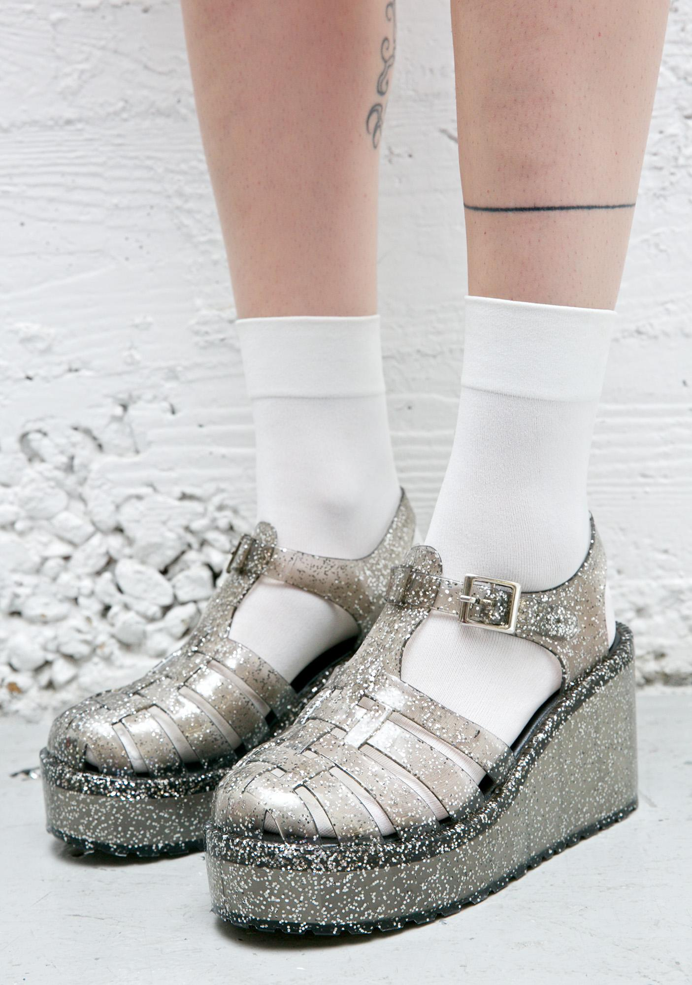 f16de9946c72 Gleam  N Glitz Jelly Platforms