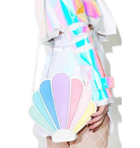 Sugar Thrillz Over The Rainbow Seashell Bag