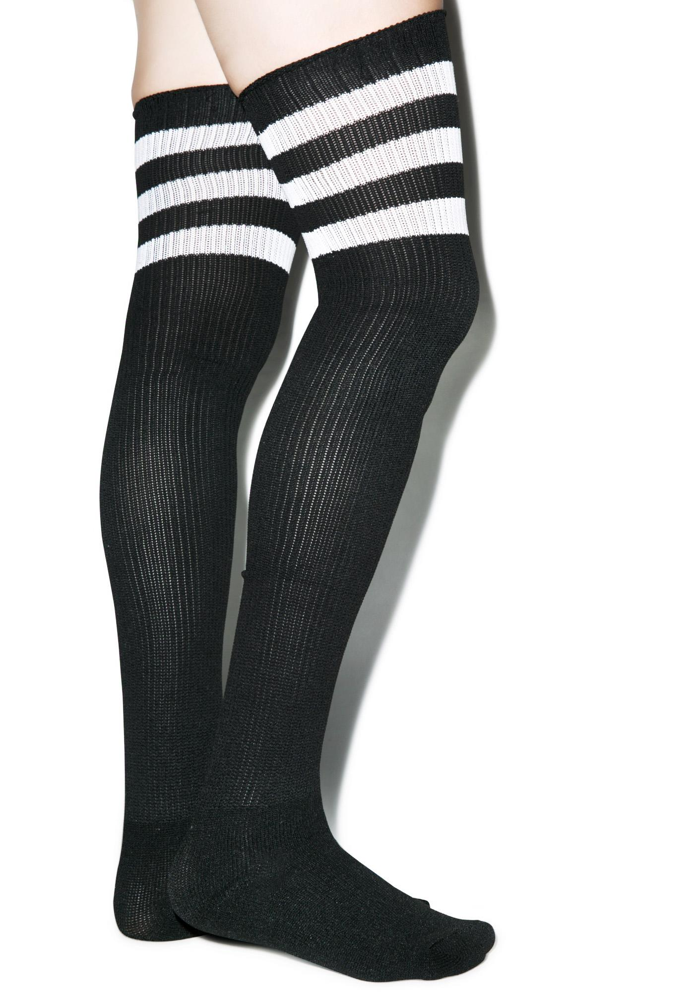 Rack 'Em Up Athletic Thigh Highs