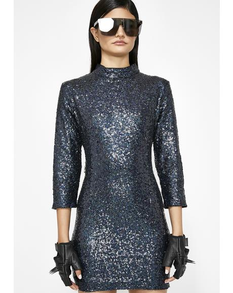 Midnight Magic Sequin Dress