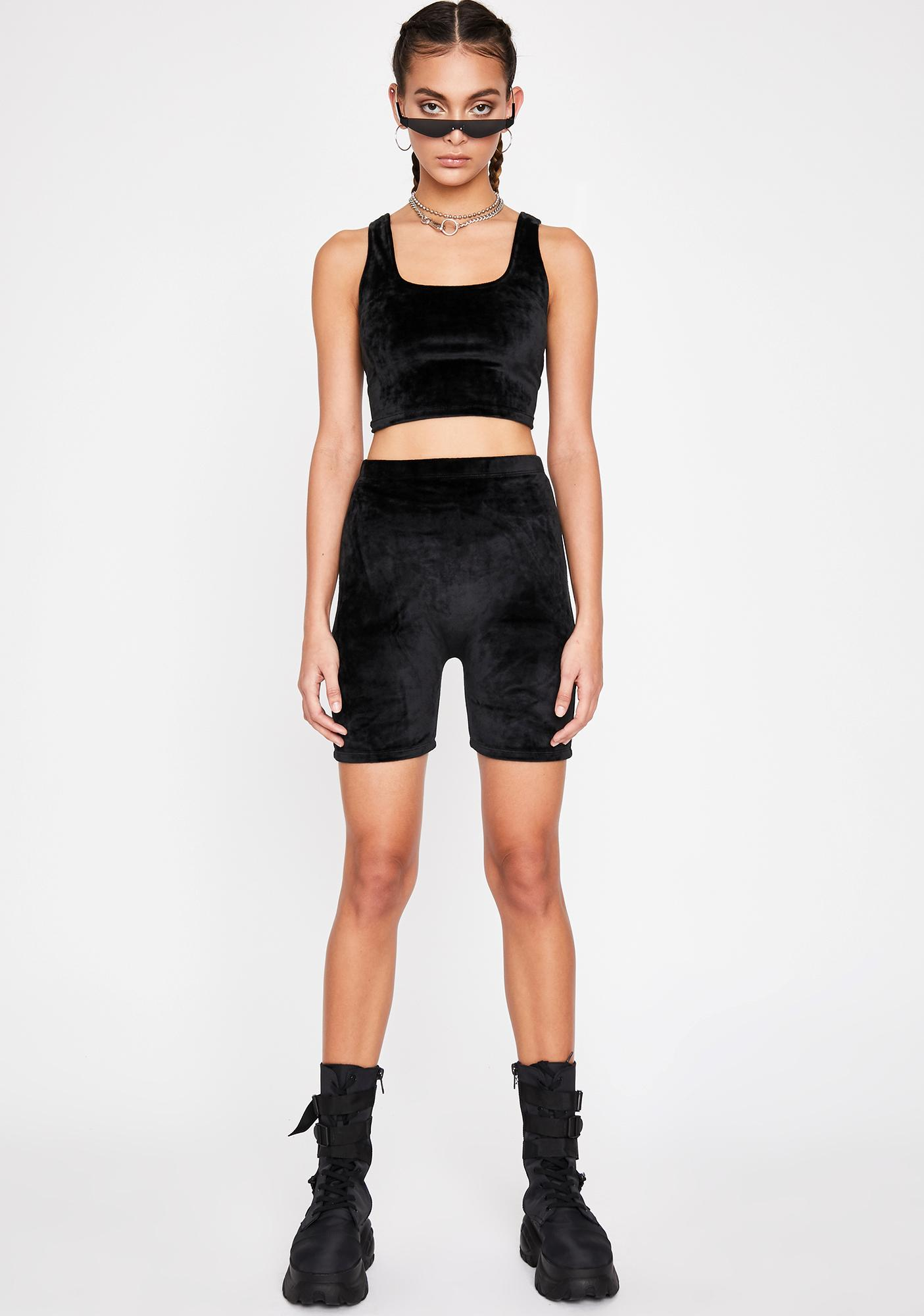 Luna Yas Qween Biker Shorts