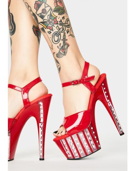 Spicy Show Stoppa Platform Heels