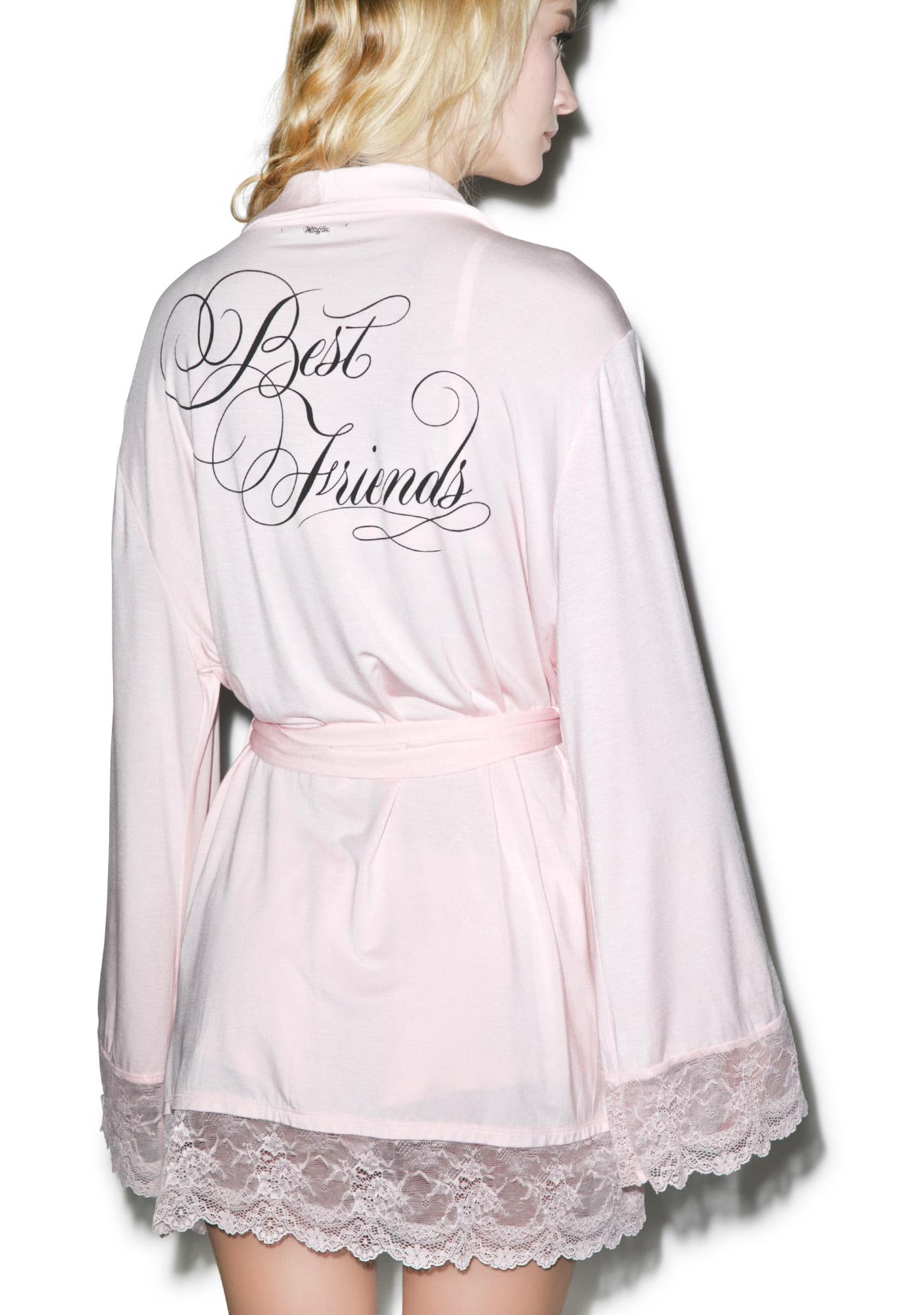 Wildfox Couture Best Friends Dressing Robe