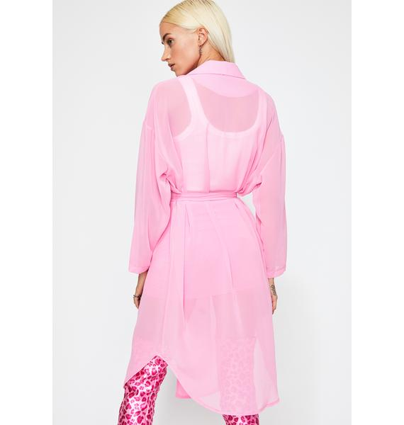 Out Of Office Trench Coat