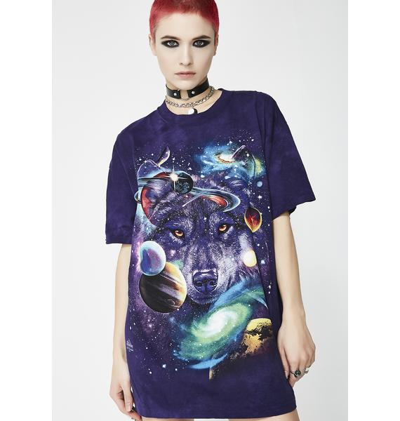 Wolf Of The Cosmos Graphic Tee