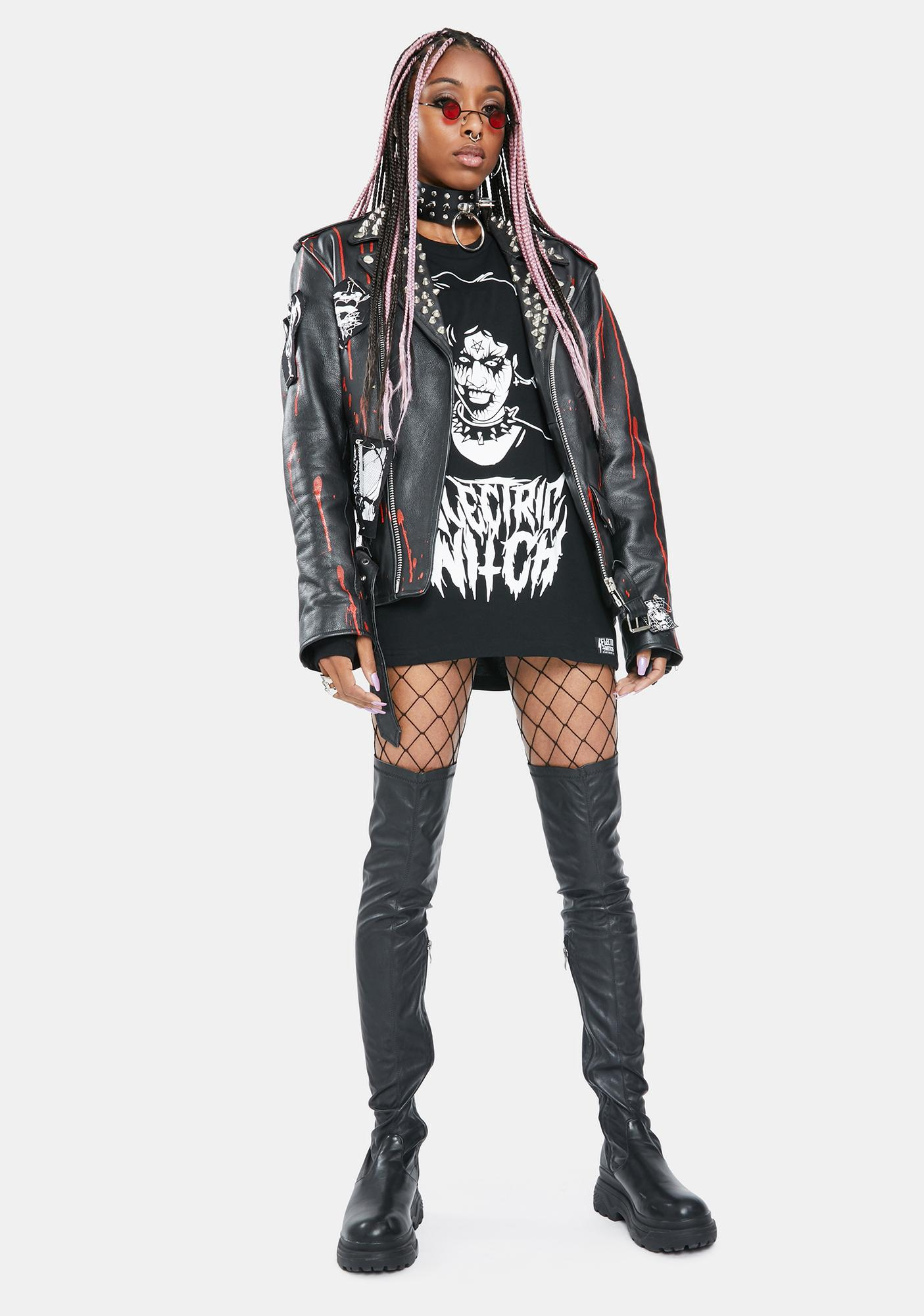 Electric Witch Nancy Graphic Tee
