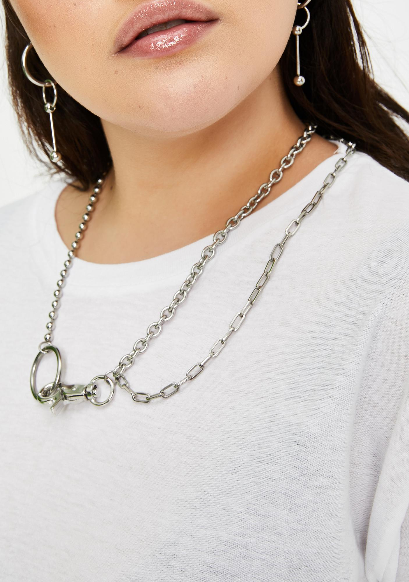 Disturbia Helix Chain Necklace
