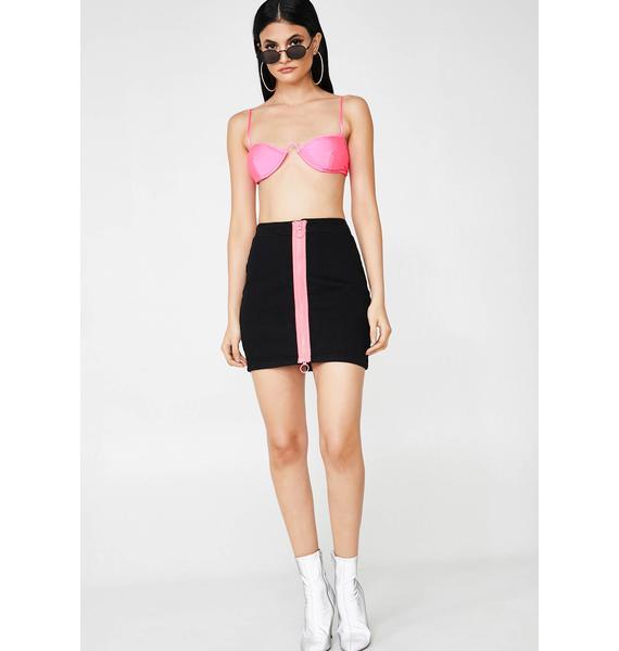 Acid Escapade Mini Skirt