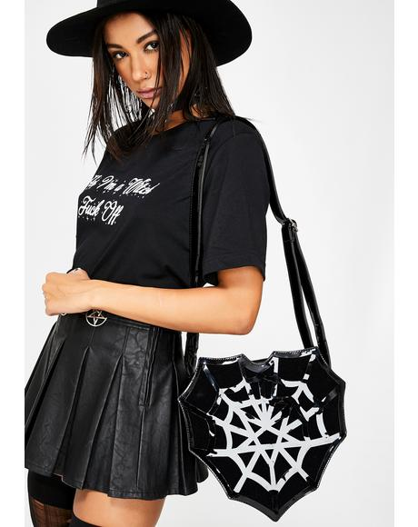 Spiderweb Heart Bag