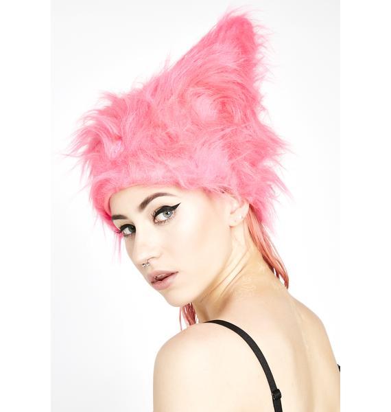 Cyberdog Bubblegum Yeti Hat