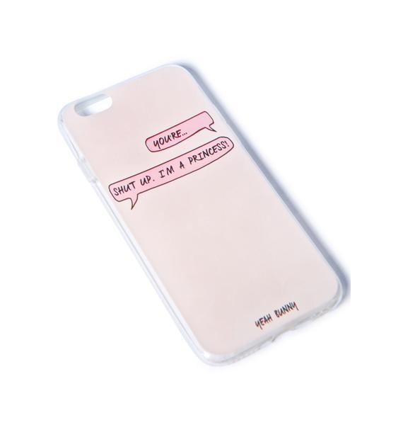 Yeah Bunny Princess iPhone 6 Case