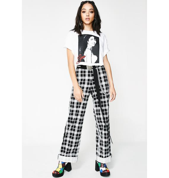 Anything For Selenas Crop Tee