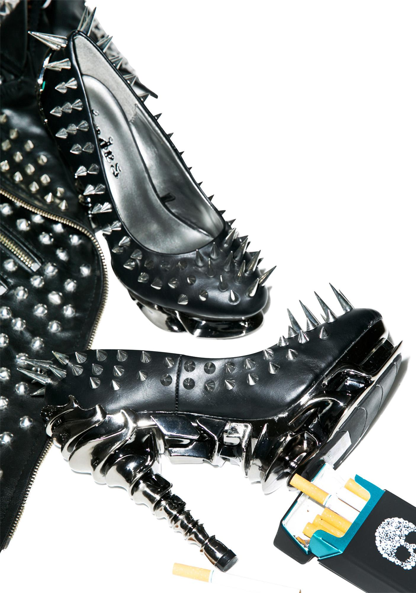 Hades Footwear Zetta Platform Heels
