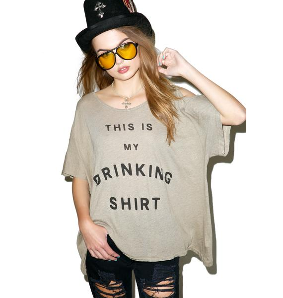 Wildfox Couture Drinking Shirt Louise Tee
