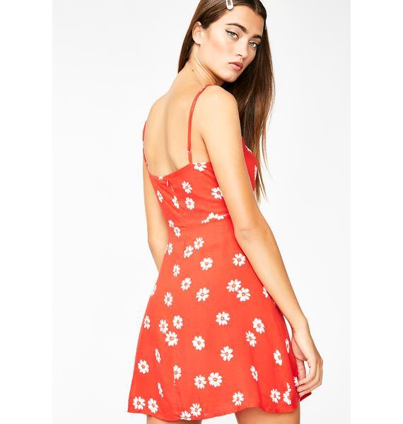 Flora Aura Mini Dress