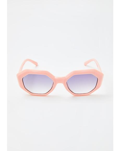 Spring Breeze Angular Sunglasses