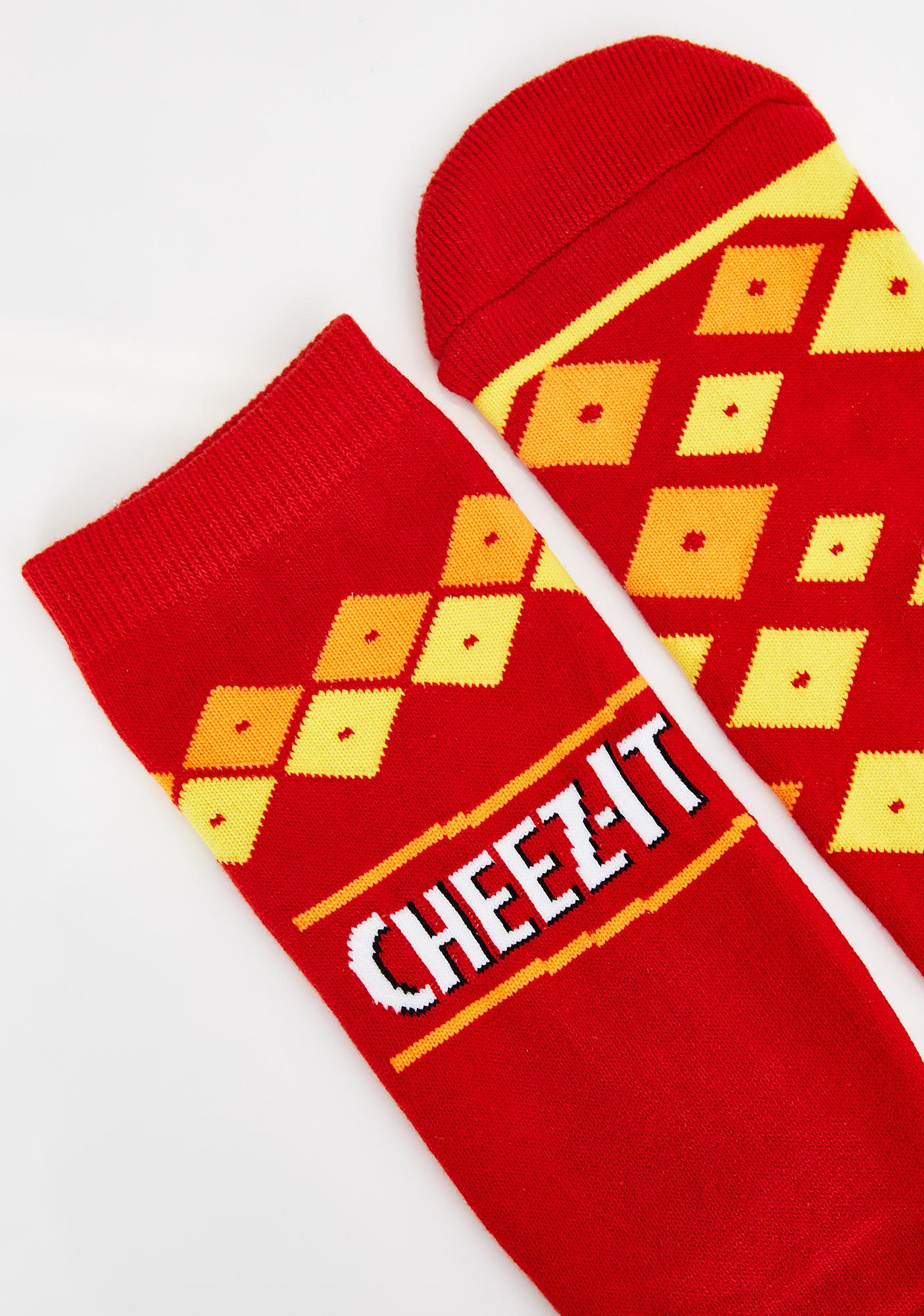 Cheezy-Does-It Socks