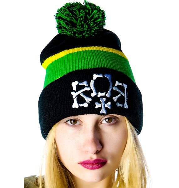 HLZBLZ x Belle of the Brawl City of Gawd Beanie