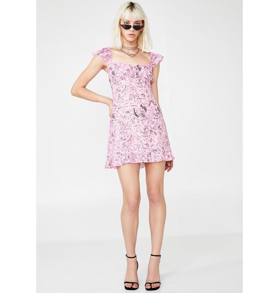 NEW GIRL ORDER Constellation Dress