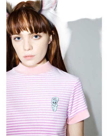 Esther Love Oaf Smoking Bunny Shirt