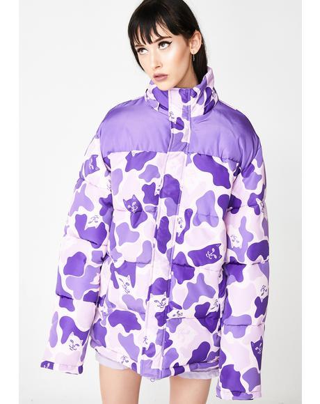Nerm Camo Puffer Jacket