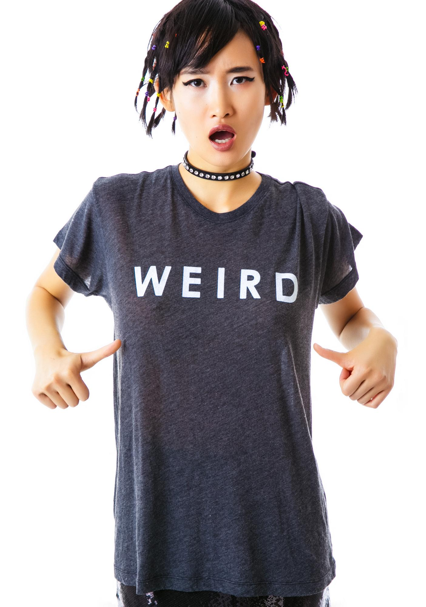 Wildfox Couture Weird Oversized T