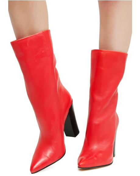Ethan Leather Booties