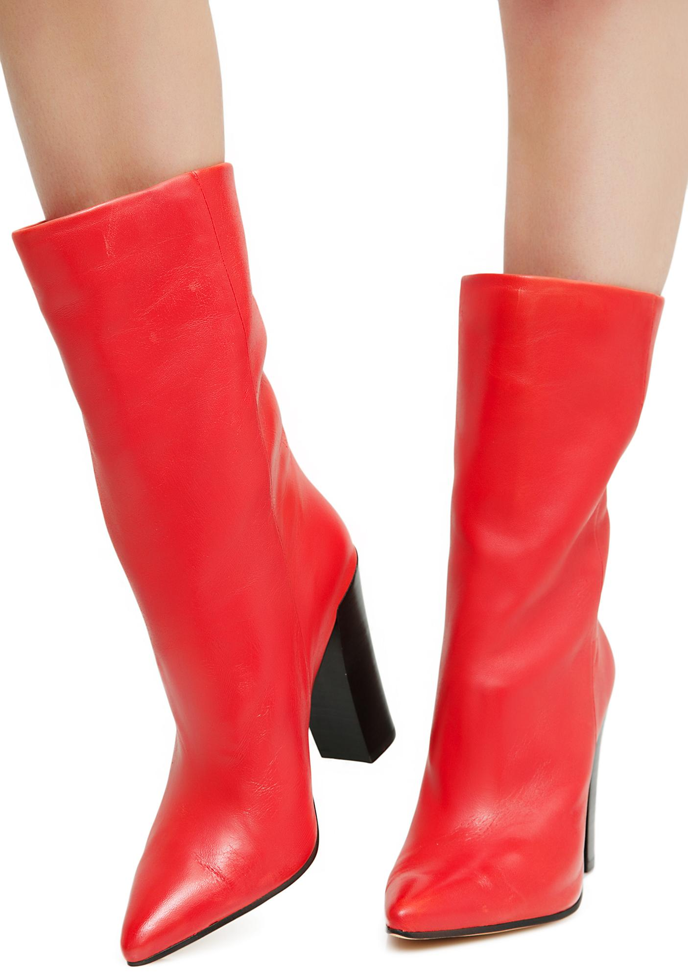 Dolce Vita Ethan Leather Booties