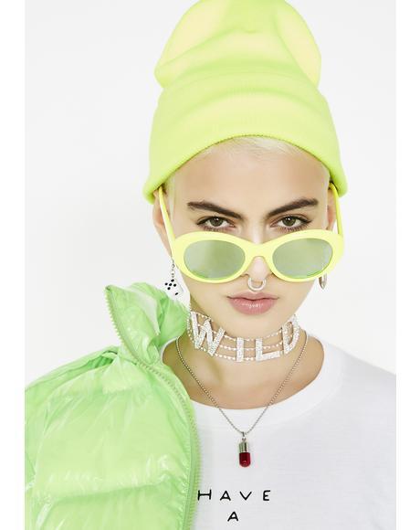 Slime Crime Neon Beanie