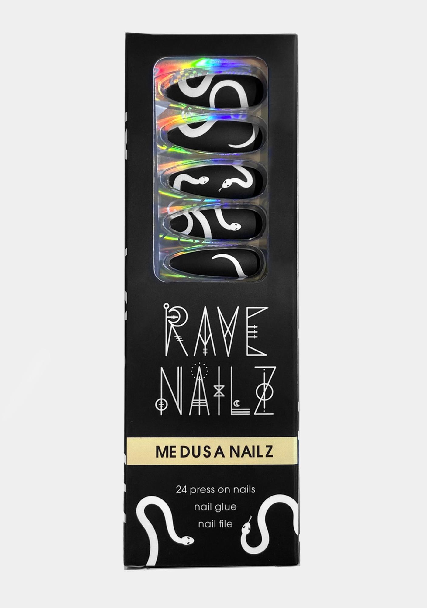 Rave Nailz Medusa Press On Nailz