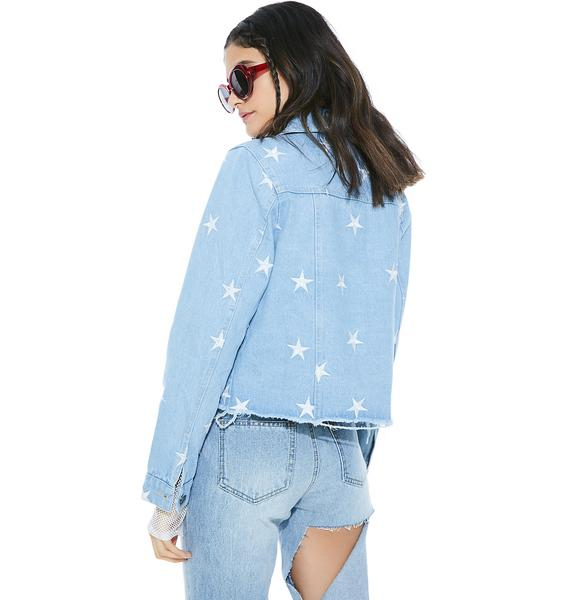 Star Spangled Denim Jacket