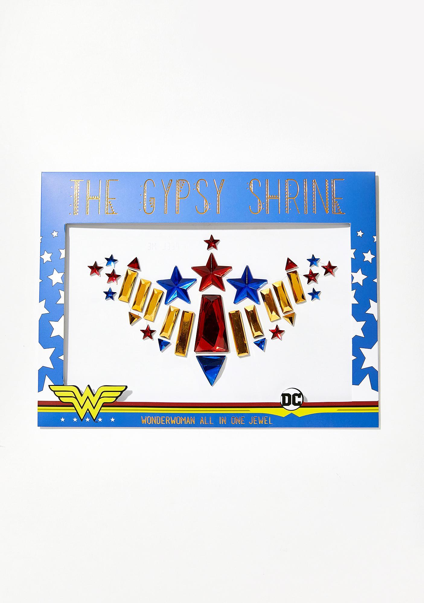The Gypsy Shrine Wonder Woman Chest Piece Jewel