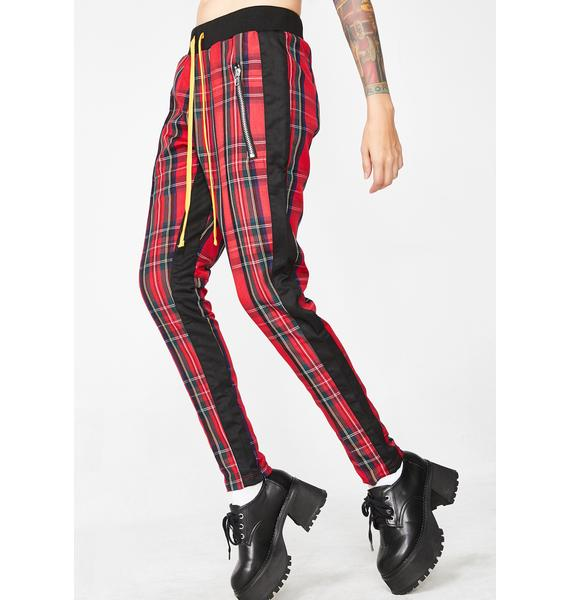 Civil Clothing Tartan Track Pants