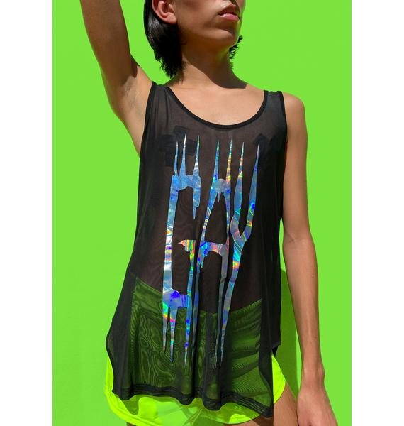 Club Exx Beyond The Labels Mesh Tank
